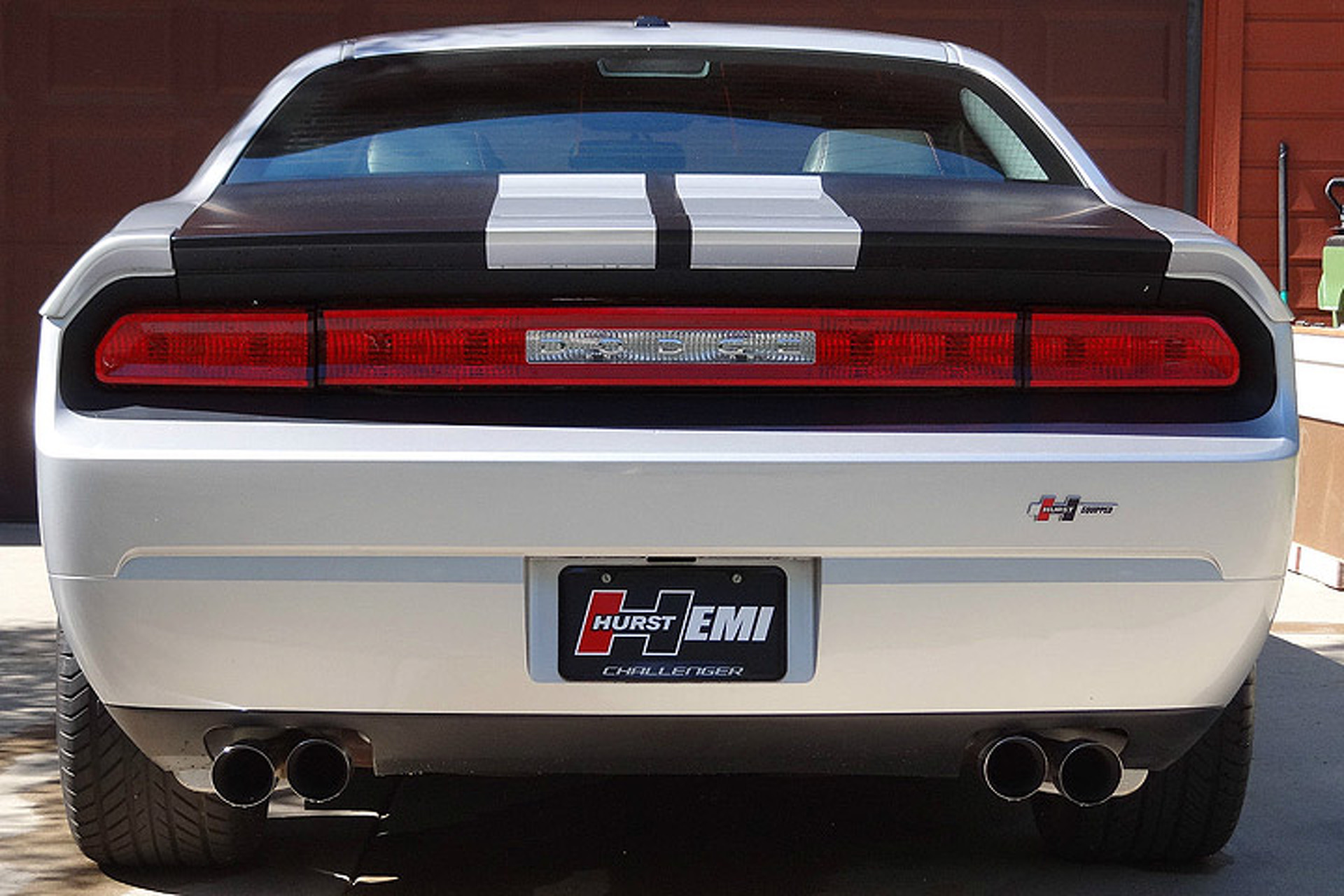 Make No Mistake, This is One Rare Hurst Dodge Challenger