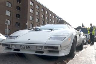 Rare Lamborghini Abandoned by London's Tower Bridge