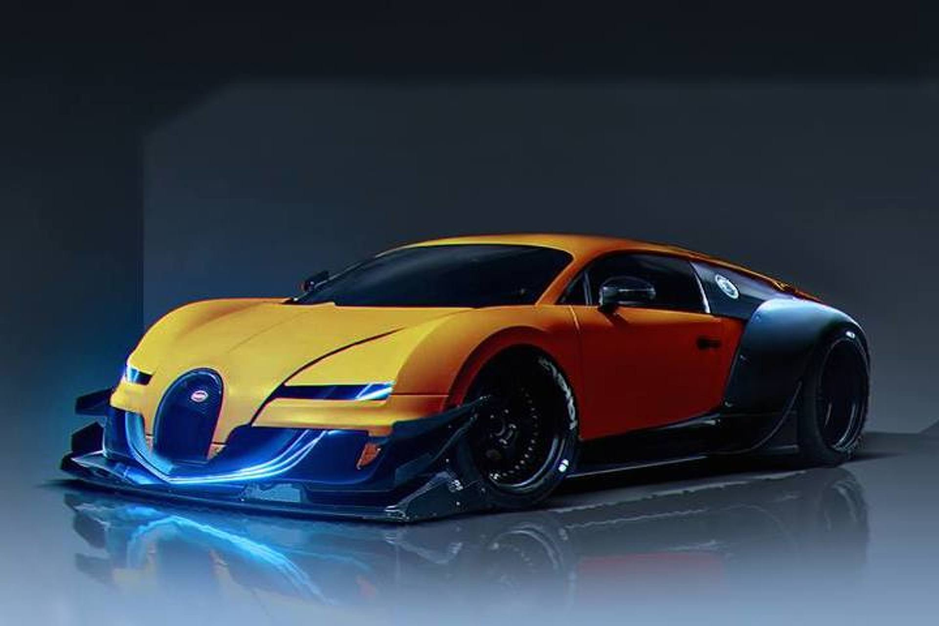 Artist Creates Amazing Sci Fi Supercar Concepts Photo