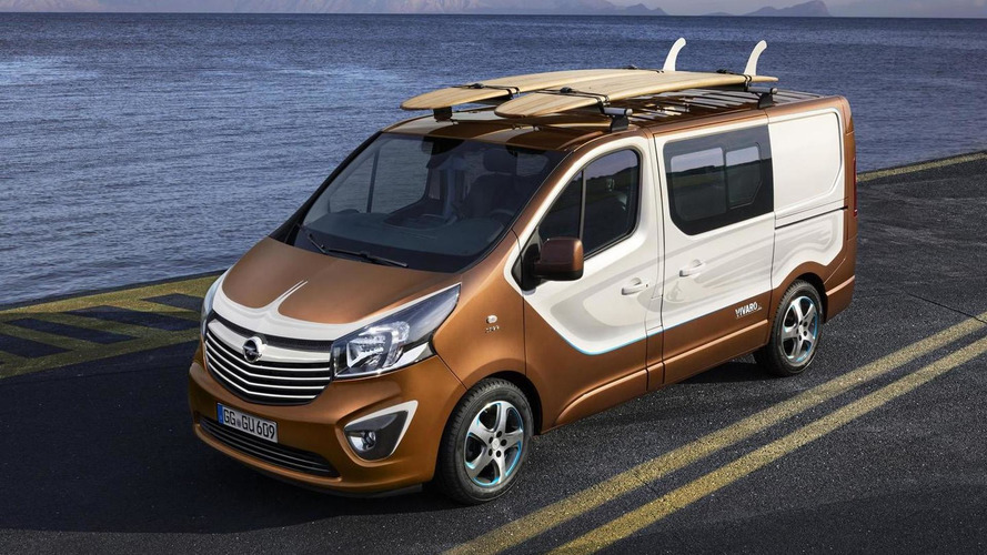 Opel reveals leisure-oriented Vivaro Surf concept