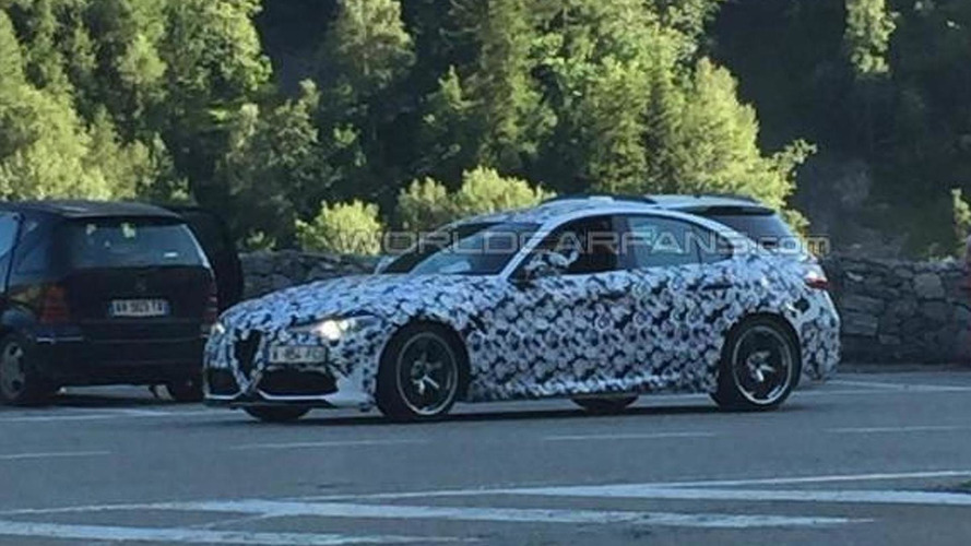 WCF reader's spy shot shows Alfa Romeo isn't done testing Giulia Quadrifoglio