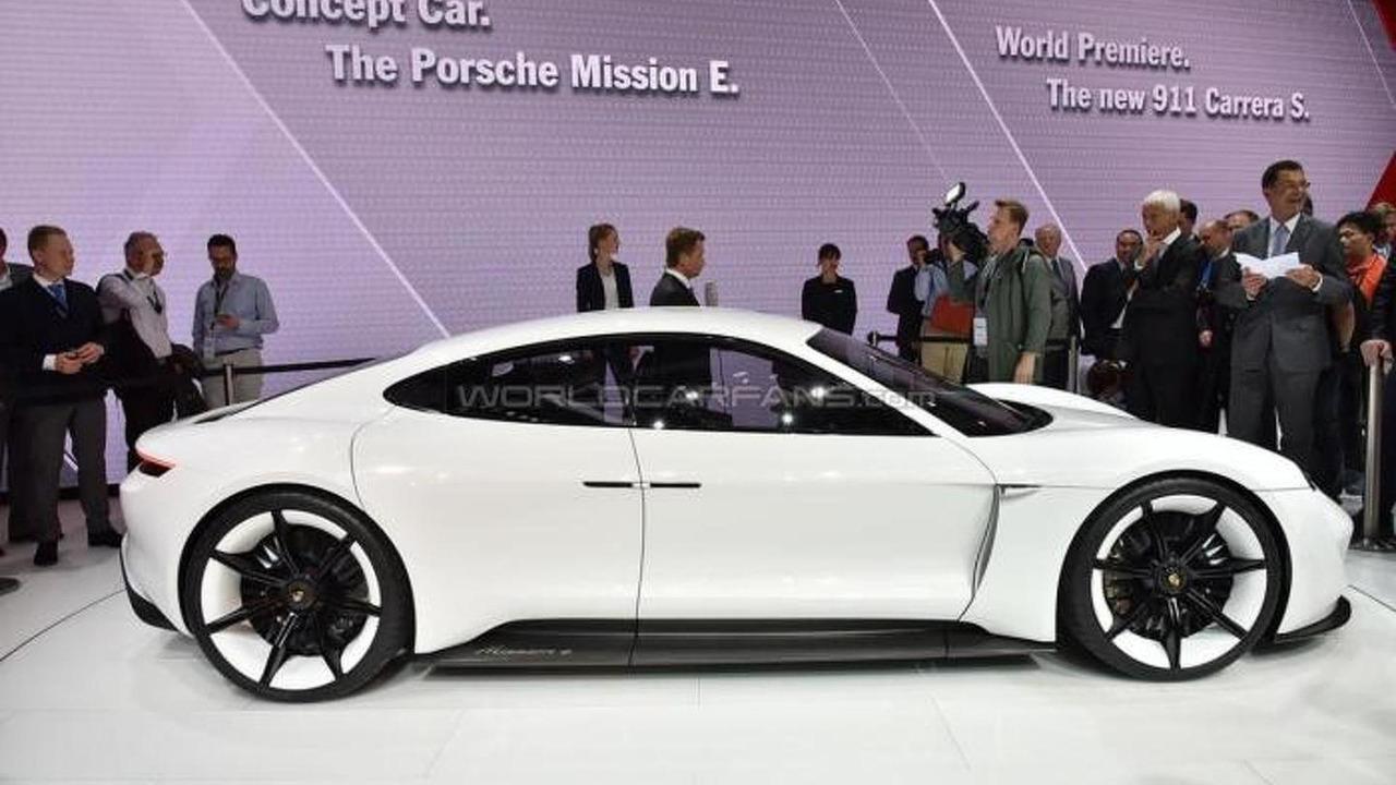 Porsche at 2015 IAA