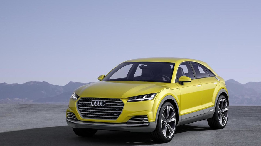 Audi says third TT body style will likely be a crossover