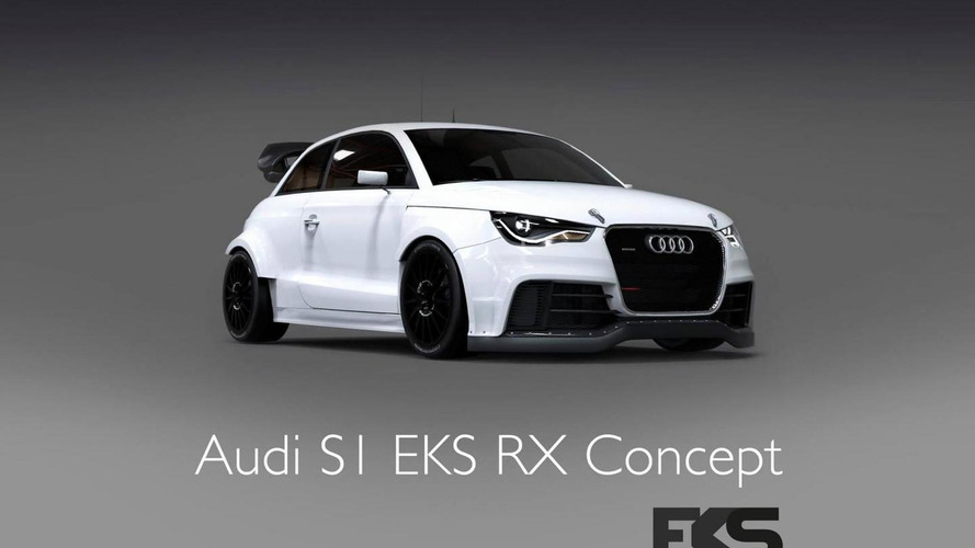 EKS unveils their Audi S1 for the FIA World Rallycross Championship
