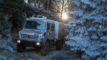 Mercedes Unimog U 4000 mountain rescue