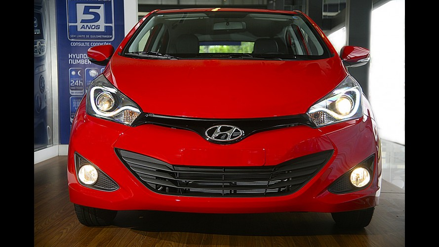 Edição especial: Hyundai HB20 ganha faróis em LED e sai por R$ 46.500