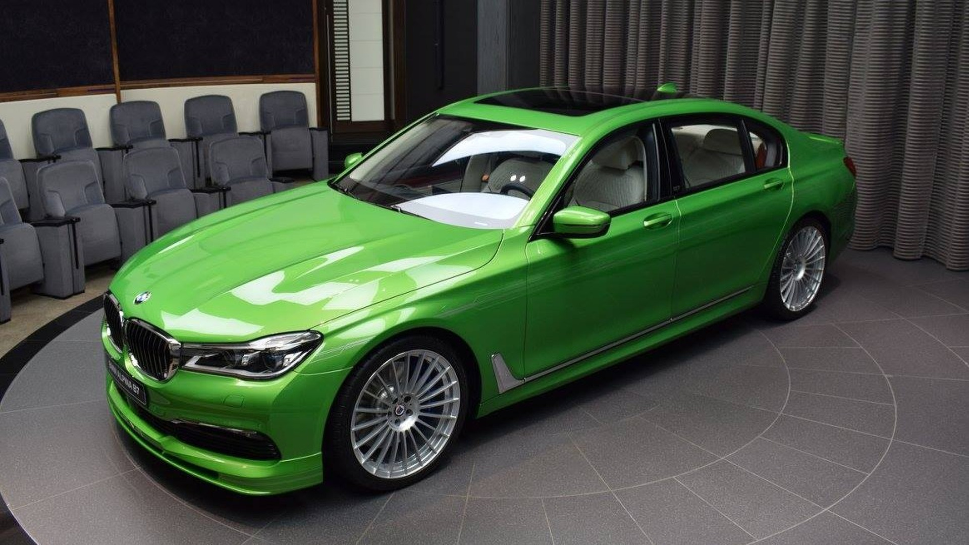 Is This Bright Green Alpina B Great Or Gross - Bmw alpina 7
