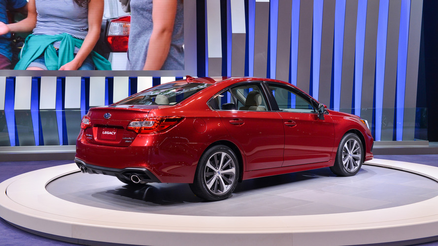 2018 Subaru Legacy: Chicago 2017