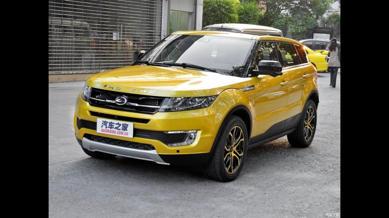 Land Rover não vai processar Jiangling Motors por cópia do Evoque