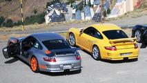 Porsche 911 GT3 RS and 911 GT3