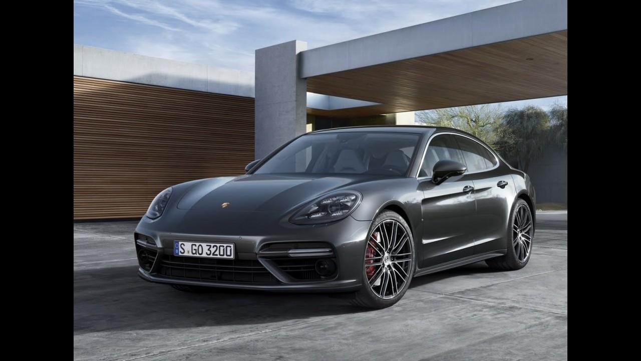 Novo Porsche Panamera 2017 E Apresentado Veja Fotos Video E Informacoes Oficiais