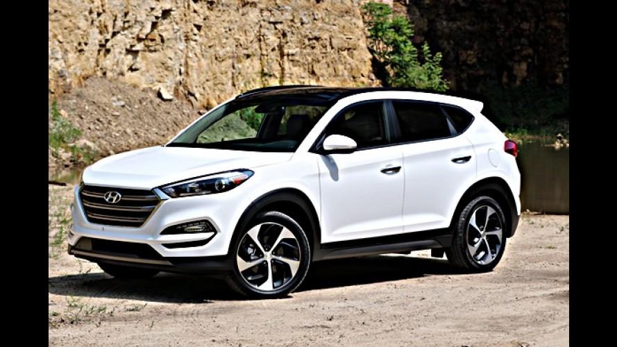 "Segredo: Hyundai ""New Tucson"" chega em agosto por R$ 140 mil"