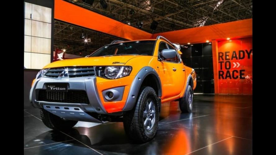 KTM e Mitsubishi lançam série especial da L200 Triton por R$ 123,9 mil