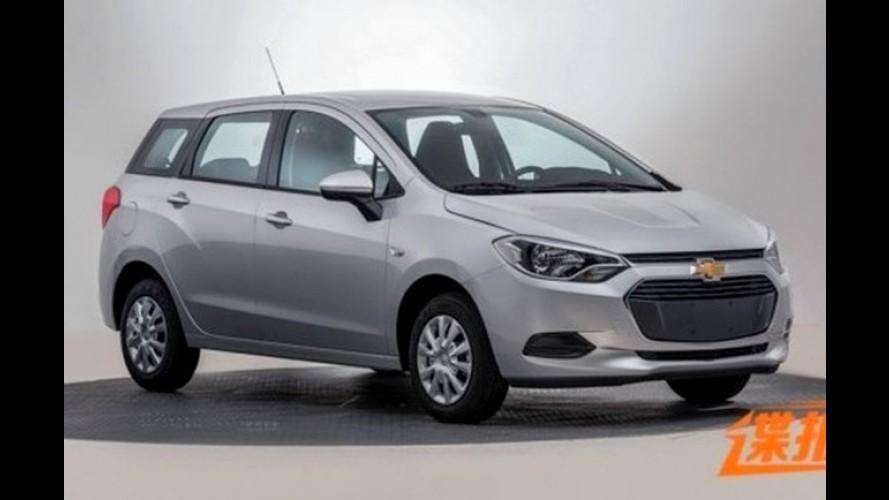 """Chevrolet Lova RV, a """"Spin chinesa"""", aparece em versão de produção"""