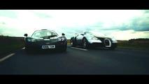 McLaren F1, Bugatti Veyron in Clash of the Titans