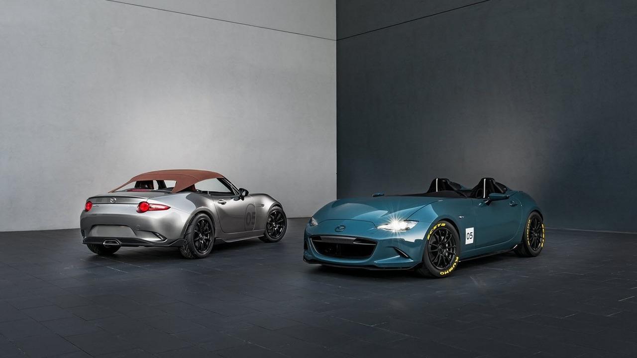 Mazda MX-5 Spyder ve MX-5 Speedster konseptleri