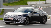 2017 Toyota GT 86 facelift spy photo