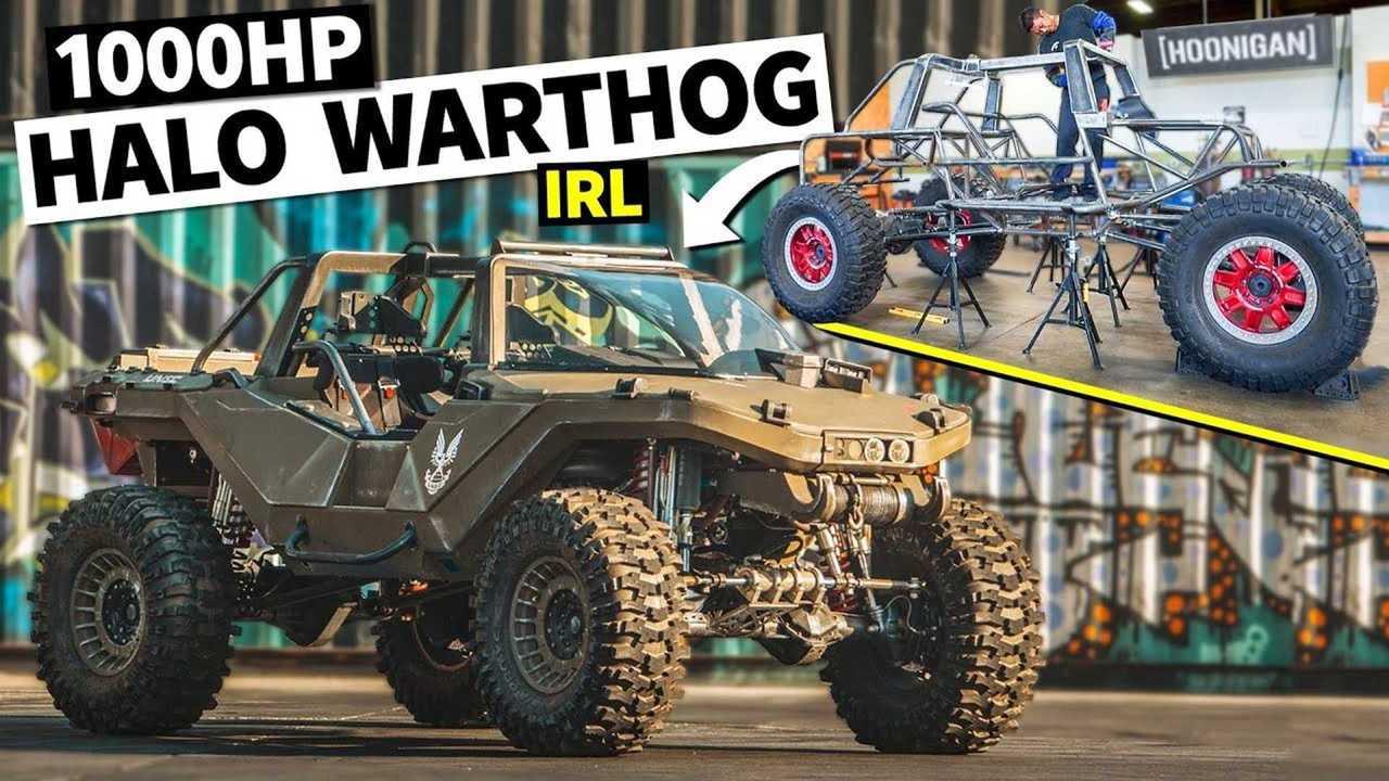 1000 lóerős Halo Warthog valódi és látványos