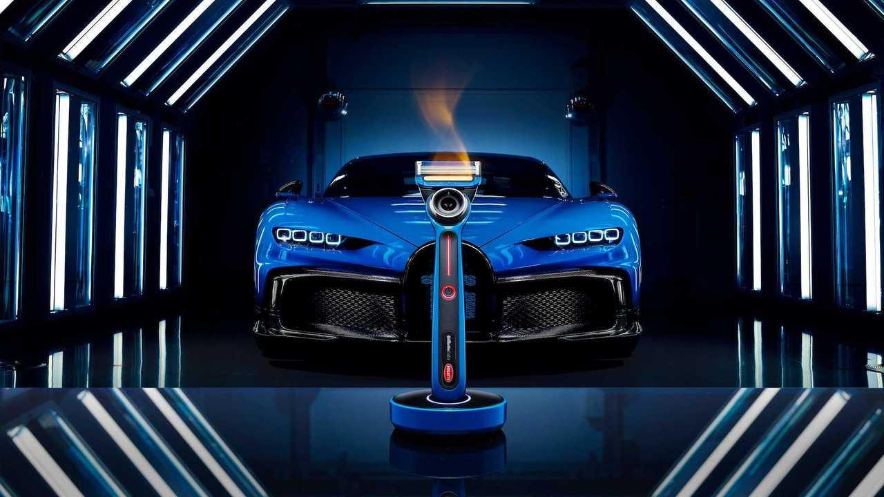 Бритва Bugatti с подогревом