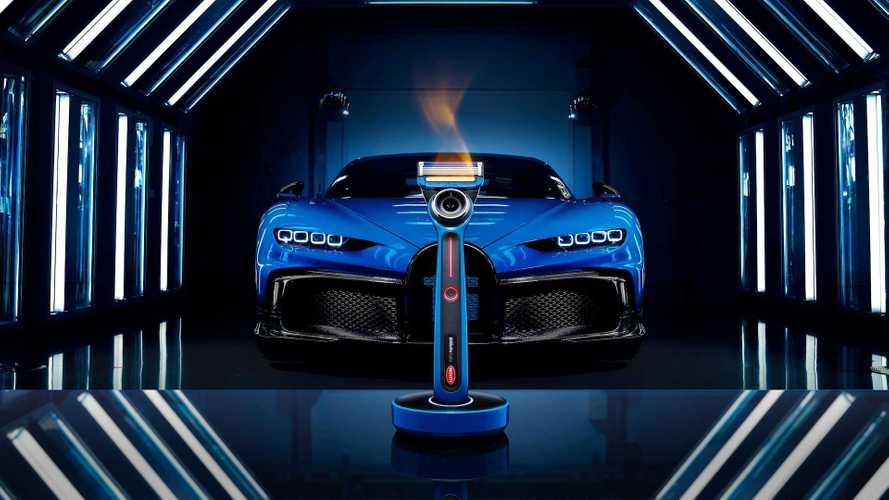 Bugatti выпустила мужскую бритву с подогревом