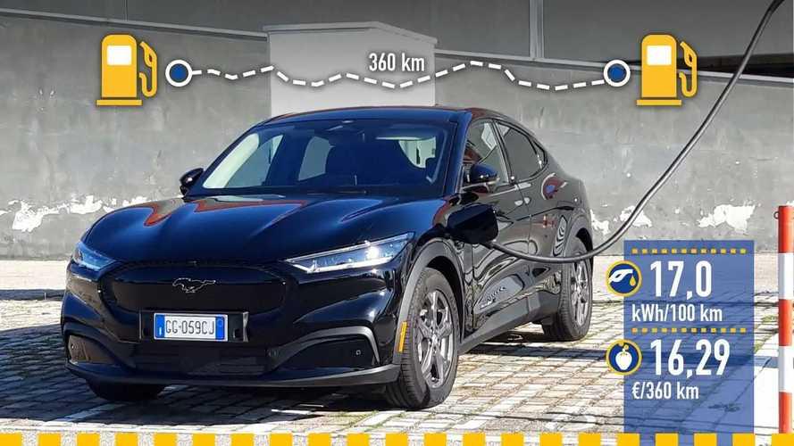 Ford Mustang Mach-E, prueba de consumo real