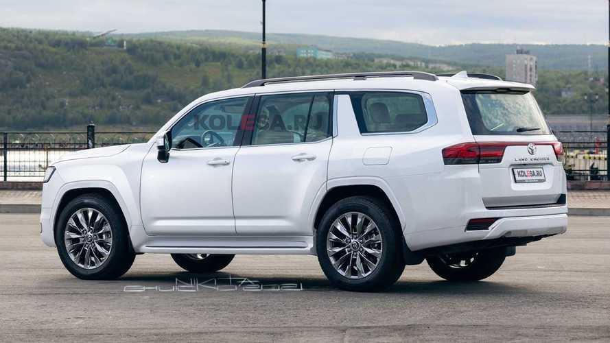 2022 Toyota Land Cruiser LWB rendering
