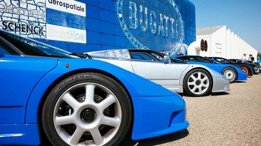 I 30 anni della mitica Bugatti EB110: maxi raduno il 19 settembre