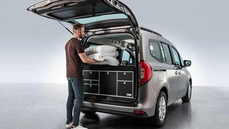 Mercedes présente la version camping du Citan