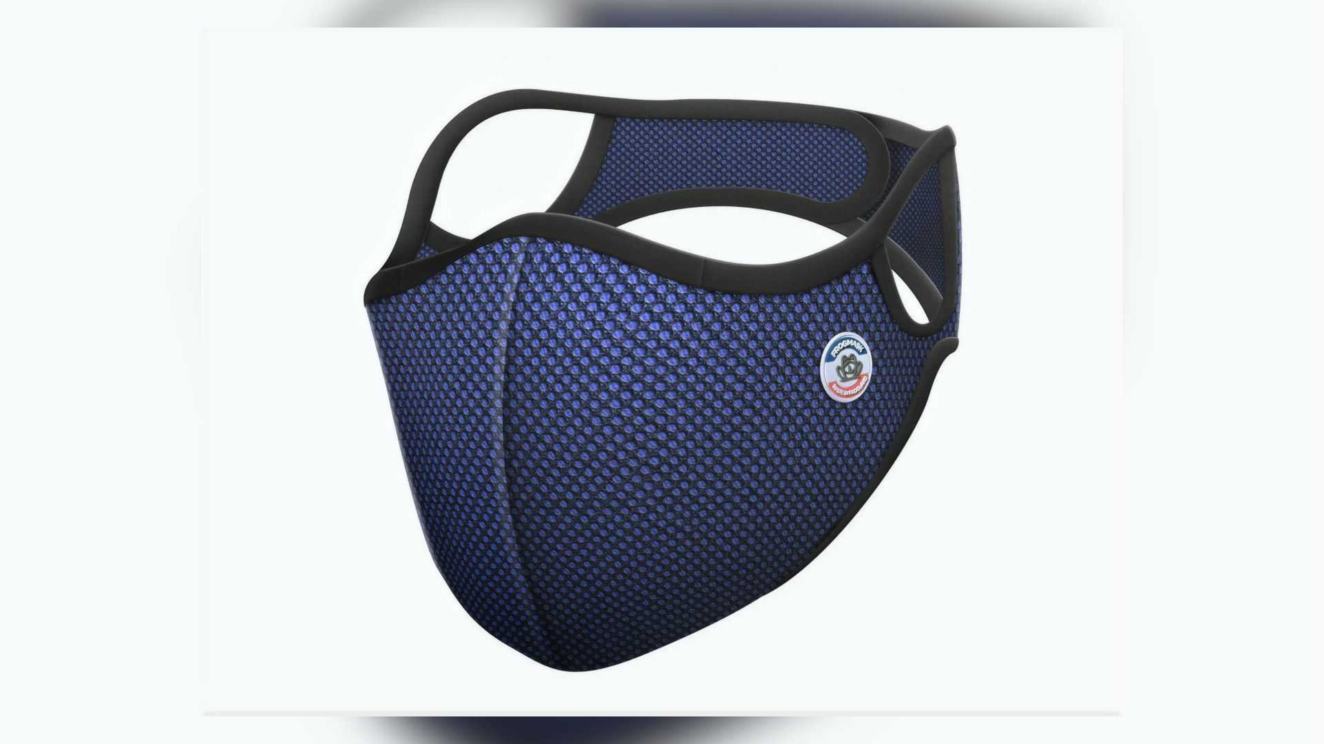 Frogmask - Blue - Front View