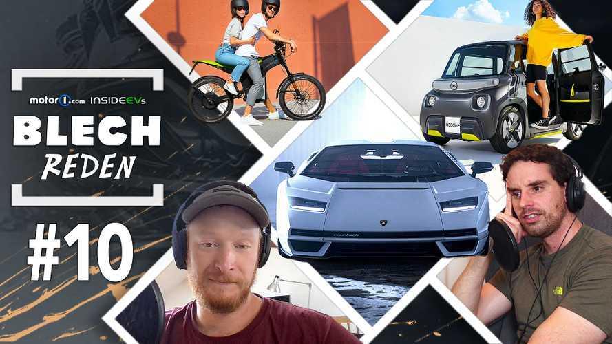 BLECH REDEN #10: Lamborghini Countach, Opel Rocks-e und mehr