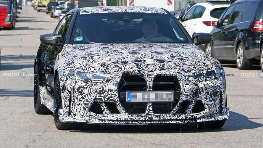 El futuro BMW M4 CSL, cazado en fotos espía