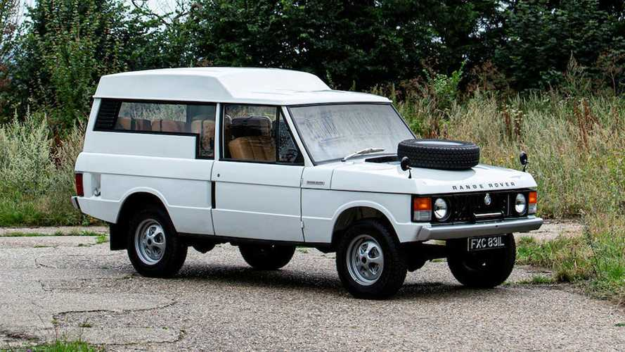 1972 Range Rover shooting brake is rare and expensive