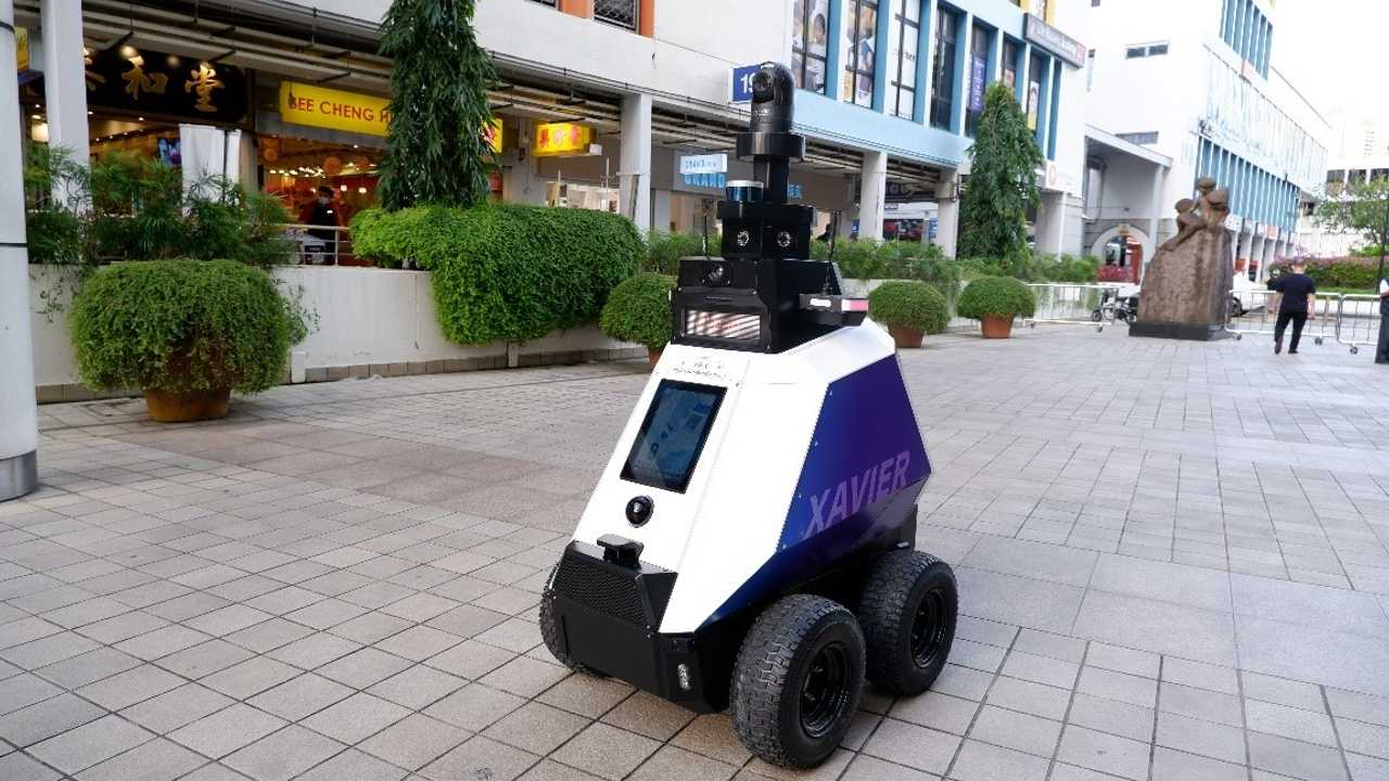 Singapore Automated Robocop
