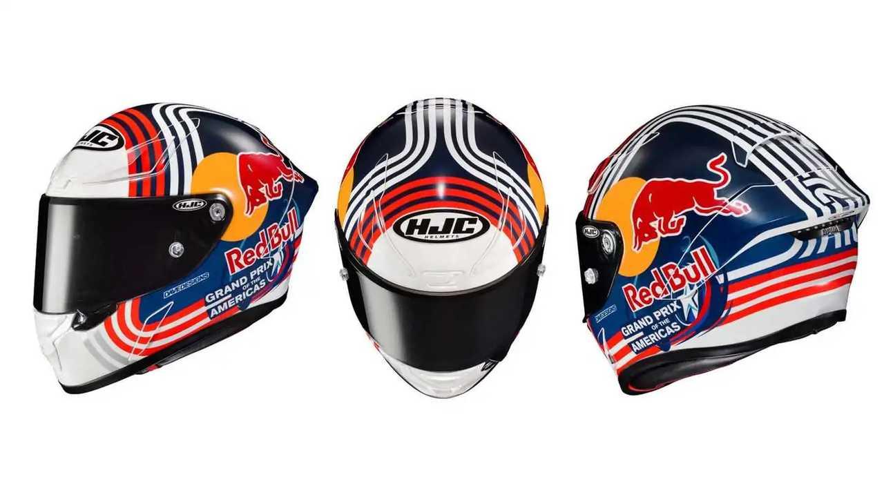 HJC RHPA 1N Red Bull Austin GP