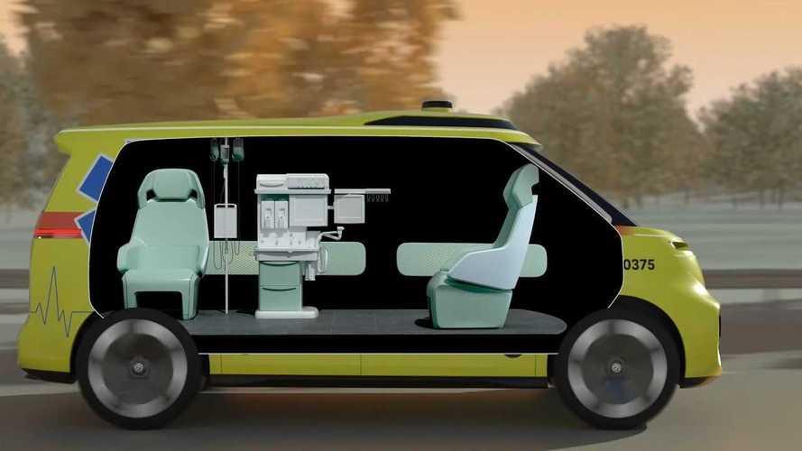 Volkswagen ID Buzz, ambulanza a guida autonoma per il 2025
