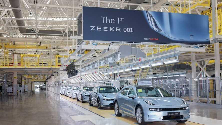 Zeekr объявил о старте серийного производства