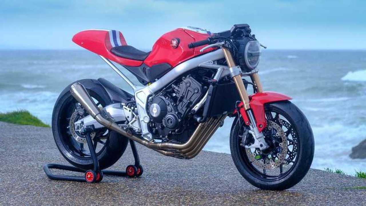 Concurso oficial de personalización Honda CB650R