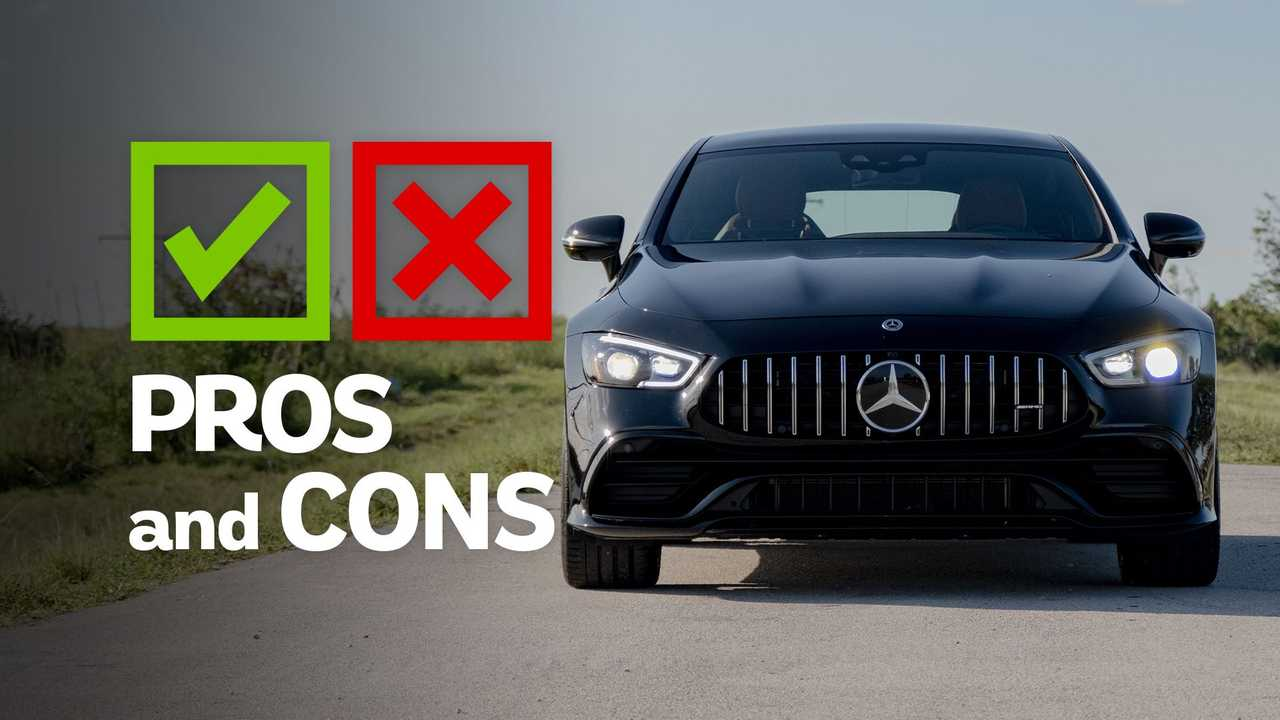 2021 mercedes-amg gt53 4-door pros and cons: stealth mode