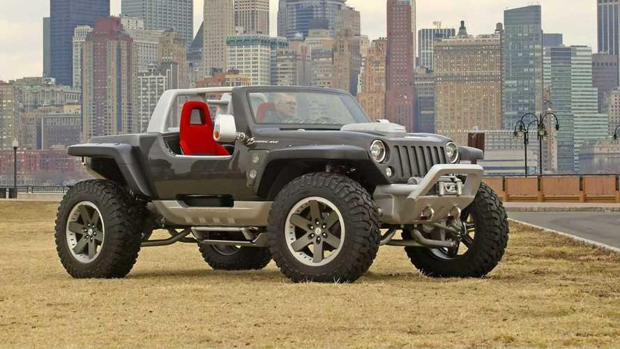 Mobil Konsep Jeep Hurricane 2005 Bisa Putar di Tempat dan 2 Mesin