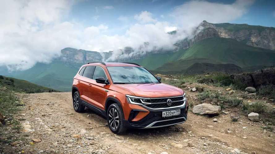 Volkswagen Taos – первый российский тест-драйв