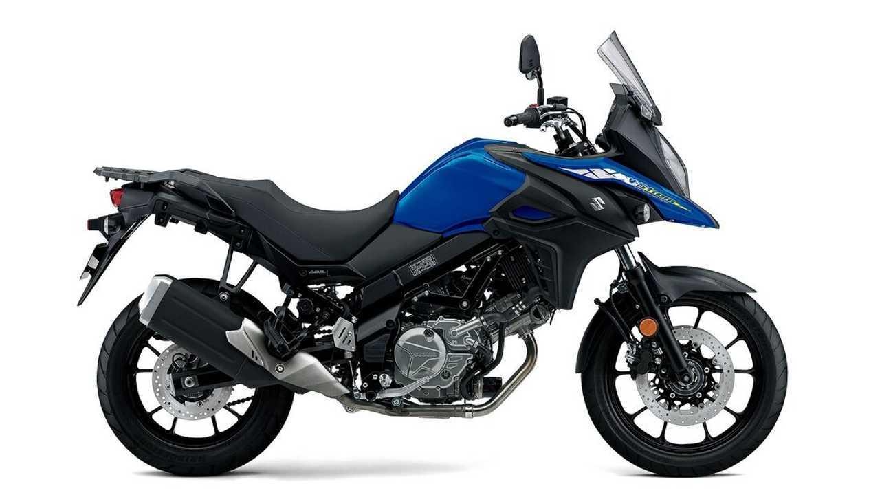 Suzuki V-Strom 650 2022 lebih segar dengan warna baru.