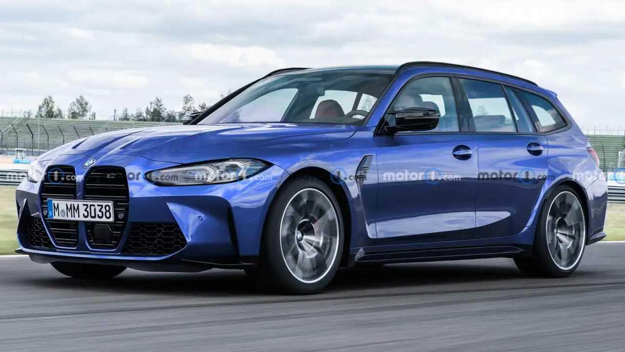 BMW M3 Touring Render