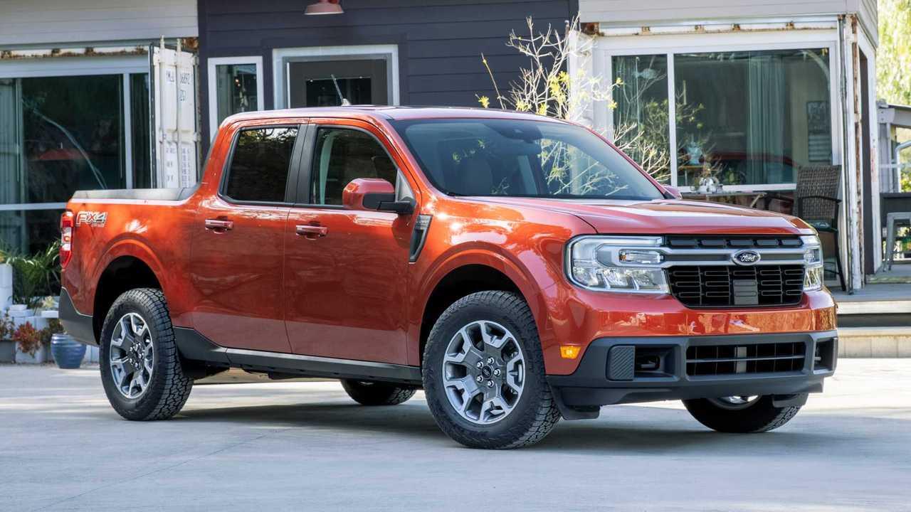 The 2022 Ford Maverick.