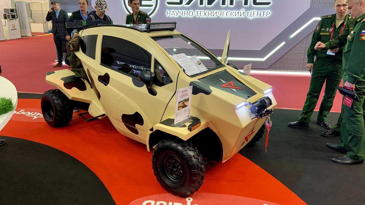 Электромобиль «Эра» Вооруженных Сил России