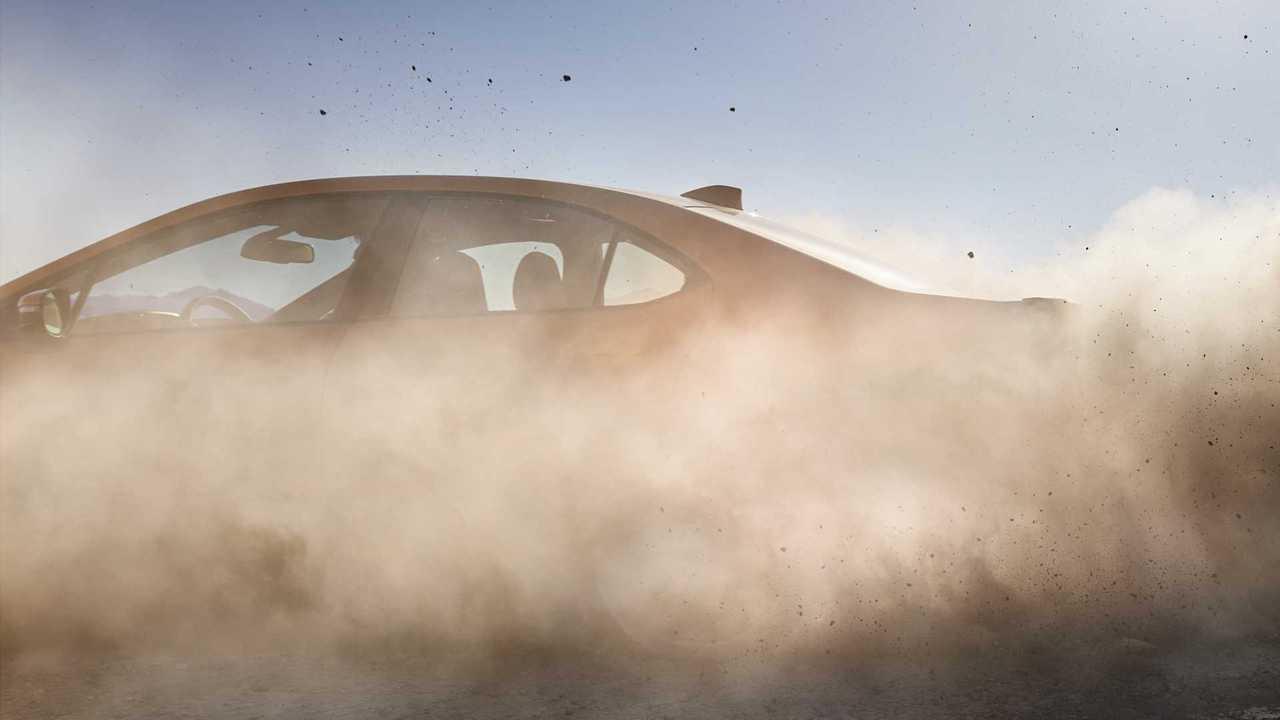 Ein Teaser des neuen Subaru WRX für 2022