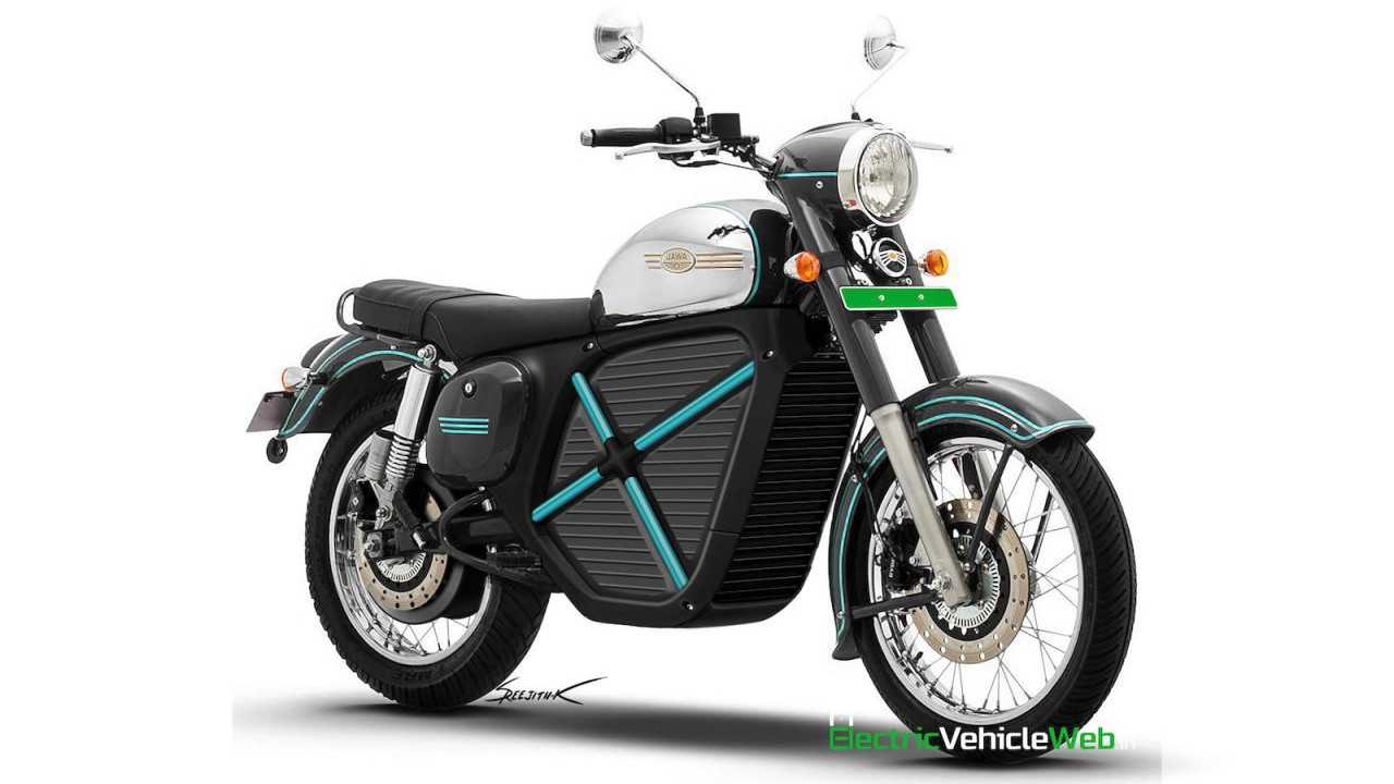 Is Jawa Working On A New Retro-Style Electric Motorcycle?