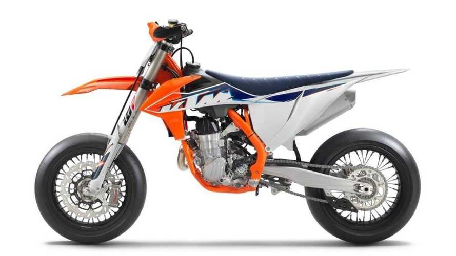KTM Updates The 450 SMR With Some Refinements For 2022