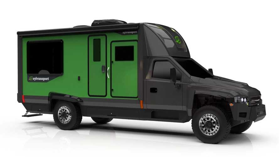 This All-Electric RV From SylvanSport Will Offer 400 Miles Of Range