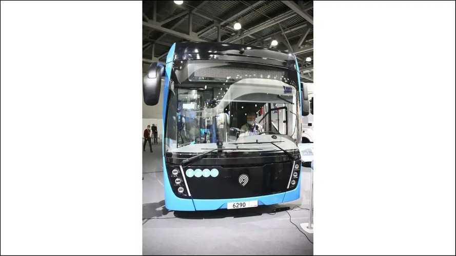 Kamaz 6290 autobús de pila de combustible