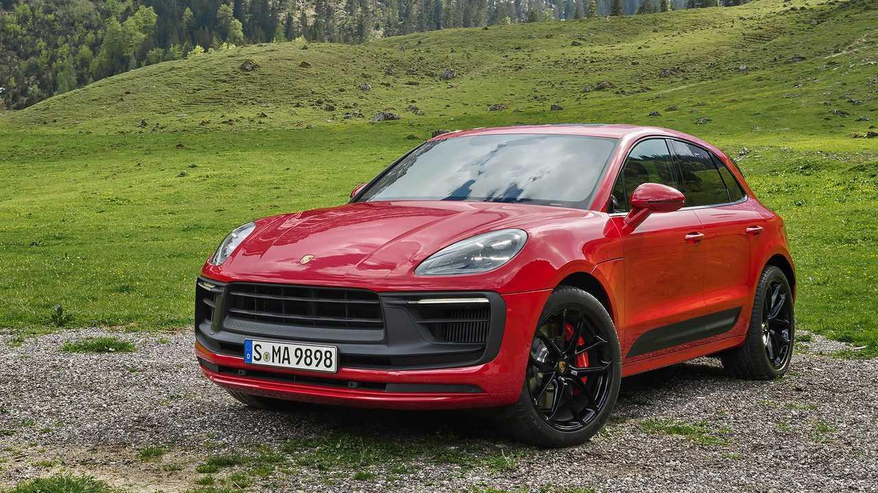 Porsche Macan restyling (2021)